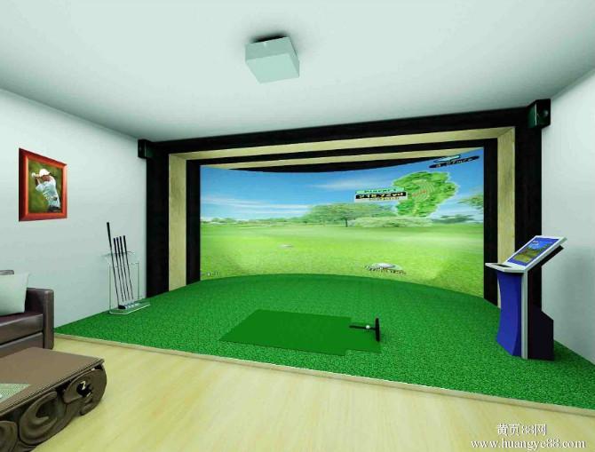 室内高尔夫安装要注意的问题